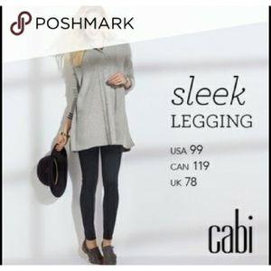 CAbi #3211 Sleek Ponte Leggings in Black